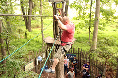 180831-A-BQ883-044 (704thpublicaffairs) Tags: fortmeade 704thmilitaryintelligencebrigade 704th mi duty day with god zip lining military army chaplains corps