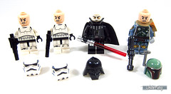 A closer look at the minifigures without the helmets (WhiteFang (Eurobricks)) Tags: lego ucs mbs ultimate collector series master builder empire strikes back blockbuster movie original trilogy esb sw bounty hunter cloud city lando darth vader stromtroopers luke skywalker han solo princess leia droids playset mega d2c direct consumer display spaceship sith jedi ambush