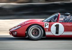 Ken Miles' 1966 Ford GT40 MKII Targa (Dennis Schrader Photography) Tags: 2018 california racecar dennisschraderphotography historic d500 cars nikon car monterey unitedstates us ford gt40 mkii targe ken miles