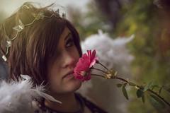 Perfume or Poison (Luv Duck - Thanks for 13M Views!) Tags: select ashlynn brunette beautifulgirl angel flowers girlwithflowers photoshoot alaskangirls anchoragegirls rose headband