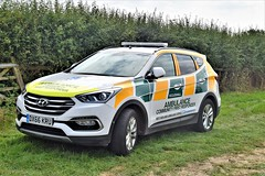 DSC_0068 (richellis1978) Tags: eccleshall show cars vans classic restored hyundai 999 west midlands ambulance community first responder hyundaisantafe