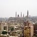 Paisaje urbano del Cairo, Egipto.