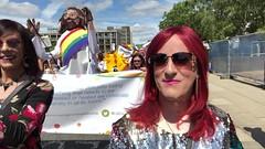 July 2018 - Hull Pride (Girly Emily) Tags: crossdresser cd tv tvchix tranny trans transvestite transsexual tgirl tgirls convincing feminine girly cute pretty sexy transgender boytogirl mtf maletofemale xdresser gurl glasses dress hull pride stilettos highheels parade march