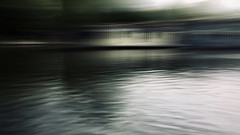 Going the other way.. (Zara.B) Tags: abstract intentionalcameramovement iphone icm riverbank impression river reflections motionblur mobilephonecamera slowshutterapp blur