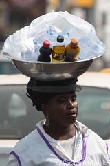 Kumasi afternoon - drinks vendor (10b travelling / Carsten ten Brink) Tags: 10btravelling 2017 africa african afrika afrique asante ashanti carstentenbrink ghana ghanaian goldcoast iptcbasic kumasi places westafrica carrying drink maltdrink streetvendor tenbrink vebevarge vendor water woman icarry carry porter tragen portage