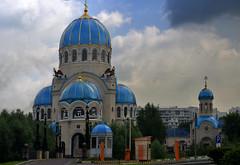 RUSSIE - Moscou -  dans les quartiers (AlCapitol) Tags: russie moscou église nikon d800 church coupole bleu
