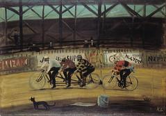 Kamil Lhotak (Bicyman) Tags: kamil lhotak gato cat bicicleta bicycle veló cycle vintagebicycle bicyclevintage oiloncanvas