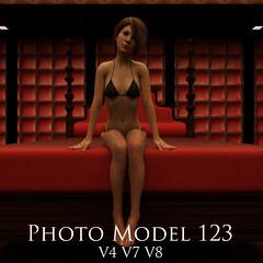 Photo Model 123 (Adam Thwaites) Tags: free photo model pose poses genesis3female genesis8female victoria4 poser dazstudio daz3d