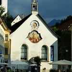 The white church of Feldkirch