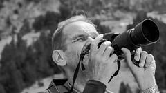 Avec passion et concentration (RIch-ART In PIXELS) Tags: portrait cirquedegavarnie gavarnie hautespyrénées pyrénées france monochrome blackandwhite fujifilmxt20 xt20 nikon depthoffield