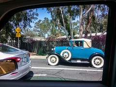 Ford Model A on Lampson Avenue in Seal Beach (49er Badger) Tags: ford model a lampson avenue seal beach