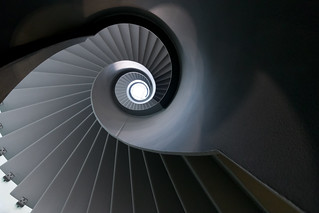 Shades of grey stairs