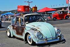 Rust is Lighter Than Carbon Fiber (Pomona Swap Meet) Tags: vw volkswagen aircooled vintagevw veedubs vwbug vwtype1 pomona fairplex pomonaswapmeet pomonafavorites rust patina vintage classic classiccars cocacola vwbeetle