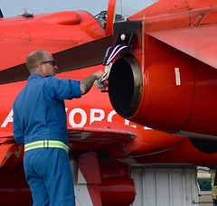 Pipe Cleaner! (Fleet flyer) Tags: royalinternationalairtattoo riat gloucestershire raffairford redarrows raf royalairforce rafat royalairforceaerobaticteam baehawkt1 baehawk hawkt1 aerobaticteam
