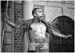 Puck (gro57074@bigpond.net.au) Tags: puck stageplay maorifolklore f28 70200mmf28 nikor d850 nikon mono monotone monochrome bw blackwhite sydney moorepark popuptheatre theatre interactive comedy play shakespeare amidsummernight'sdream