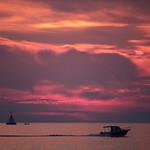 Autumn sunset in Vrsar thumbnail