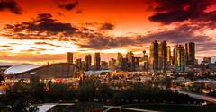 DSC_0477 (Rinathq) Tags: calgary alberta sunset skies d7200 nikon tokina wideangle panaroma cityscape cityline cityview city goldenhours