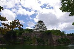 Osaka Castle 大阪城 (runslikethewind83) Tags: osaka japan asia castle building architecture historical history moat 大阪 大阪城 城 日本