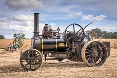 The Steam Plough.4 (Jez22) Tags: steam plough engine balanceplough winch cable agricultural vehicle bluesky field copyright jeremysage kent england