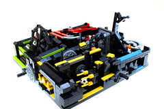 LEGO GBC MEGA-LOOP! (Josh DaVid LEGO Creations) Tags: lego mechanical miniloop moc mini mochub instructions interest kinetic sculpture joshdavid original youtube video