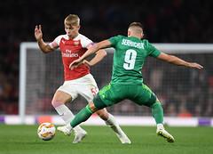 Arsenal v Vorskla Poltava - UEFA Europa League - Group E (Stuart MacFarlane) Tags: uefachampionsleague sport soccer clubsoccer soccercompetition london england unitedkingdom gbr