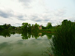 Reflected beauty in Thornhill, Vaughn (Trinimusic2008 -blessings) Tags: trinimusic2008 judymeikle nature vaughn ontario canada water park trees sky summer august 2018 oakbankpond thornhill oakbankpondpark greatertorontoarea gta sonydschx80 reflections building pond bushes clouds