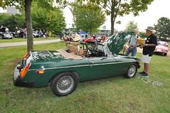 1977 MGB (5) (Gearhead Photos) Tags: jaguar e type mga mgb mgtc mgc gt english cars british delorean mgf xk xj xjs xf v8 ford cortina austin healey morgan plus 4 convertible 120 140 150 waterfront park north vancouver bc canada