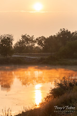 August 19, 2018 - Nice sunrise at Elaine Valente Open Space. (Tony's Takes)