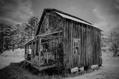 Dawson UMC_BW (Bob G. Bell) Tags: church abandoned abandonedchurch dawson umc methodist greenbrier wv westvirginia bobbell xe2 fujifilm