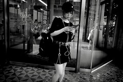 Tokyo monochrome (harumichi otani) Tags: bw blackandwhite blackandwhitephotography monochrome tokyo street streetphotography streetphoto