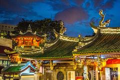 2015 Thian Hock Keng Temple (paulcore8118) Tags: telokayer bluehour singapore temple thian hock keng