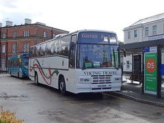 Viking KUI5324 Derby (Guy Arab UF) Tags: viking travel kui5324 volvo b10m plaxton paramount coach derby railway station rail replacement bus service derbyshire buses c324ufp tappins
