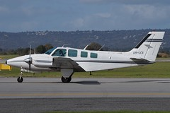 VH-LOI Beech Baron 58 (johnedmond) Tags: perth ypph westernaustralia beechcraft b58 baron australia aviation aircraft aeroplane plane sel55210 55210mm ilce3500 sony