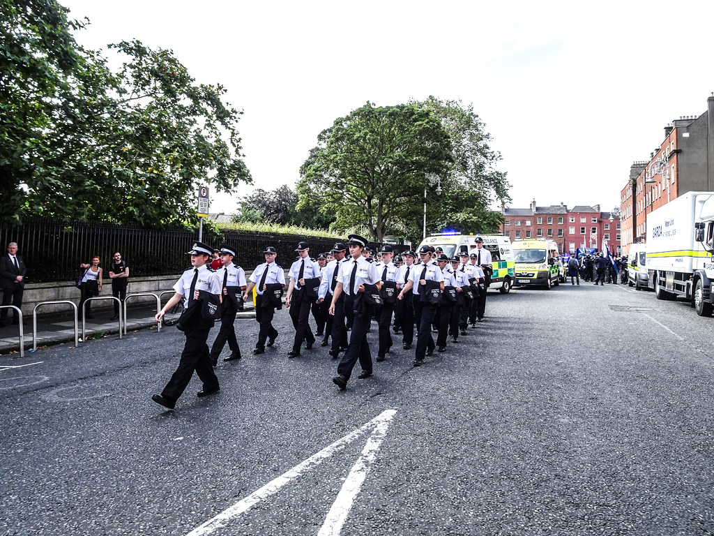 NATIONAL SERVICES DAY [PARADE STARTED OFF FROM NORTH PARNELL SQUARE]-143626