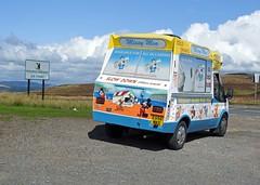Missy Moo Ice Cream Van, Keeper's Pond, Abergavenny Road, Blorenge, Monmouthshire 29 August 2018 (Cold War Warrior) Tags: icecream transit ford van blaenavon pontypool