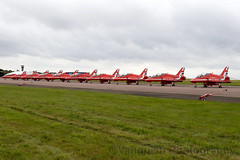 RAF Royal Air Force Red Arrows Flying Display Team RAF Scampton 2017 Airshow (Vanquish-Photography) Tags: raf royal air force red arrows flying display team scampton 2017 airshow vanquish photography vanquishphotography ryan taylor ryantaylor aviation railway canon eos 7d 6d 80d aeroplane train spotting