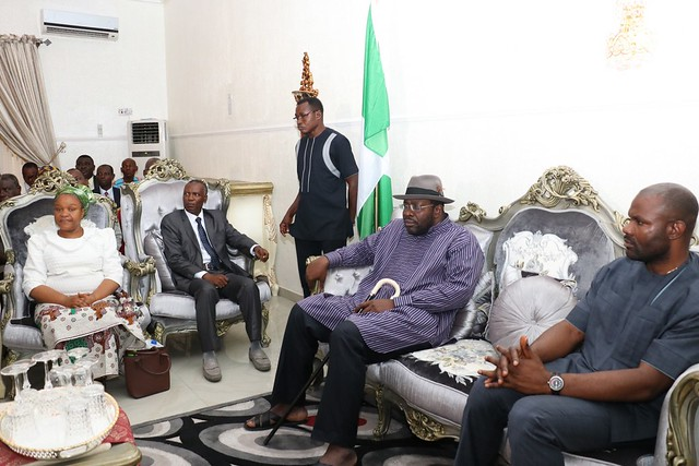 HSDickson- Condolence Visit to His Excellency by Deeper life Bible church. 30th August 2018