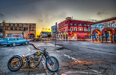 Venice Beach Vintage Harley Davidson Motorcycle Fine Art! Dr. Elliot McGucken HDR Malibu California Fine Art Landscape & Nature Photography!  Malibu's Epic Canyons & Seascapes!  Enlarged to Nikon D850 resolutions: 8288 x 5520 pixels. (45SURF Hero's Odyssey Mythology Landscapes & Godde) Tags: high res highres highresolution resolution dr elliot mcgucken hdr malibu california fine art landscape nature photography malibus epic pacific ocean seascapes enlarged nikon d850 resolutions 8288 x 5520 pixels