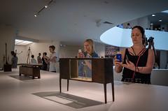 Giacometti at the Guggenheim (Phil Roeder) Tags: newyorkcity nyc manhattan guggenheim artmuseum art albertogiacometti sculpture leica leicax2