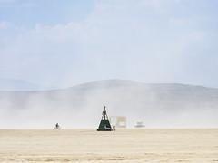Shelter from the storm (g1rlwithacurl) Tags: burningman brc 2018 city blackrockcity blackrockdesert nevada desert highdesert brc2018 dust resting breather duststorm