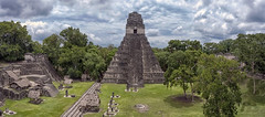 Tikal (Fil.ippo) Tags: maya tikal guatemala ruin ancient unesco history temple pyramid filippo filippobianchi d5000 sky clouds forest peten