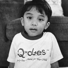 (Dani Irwan) Tags: 120 mediumformat 6x6 squareformat ilfordhp5 ei400 analog bw blackandwhite blancoynegro film malaysia monochrome noiretblanc darkroom8 mamiyac220 mamiya80mmf28 canoncanoscan8800f portrait boy son toddler crying