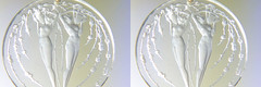 R. Lalique Pendant (cabled86) Tags: r lalique glass pendant freeview crossview stereoview