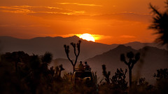 A Great Way to Enjoy the Sunset! (East of 29) Tags: desert sunset golden keysranchroad vantop sky joshuatreenationalpark skywatch sliderssunday
