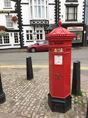 Monmouth (theo.morgan) Tags: monmouth wales britain monmouthshire town postoffice postbox pillarbox mail royalmail