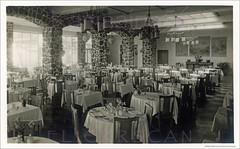 Halekulani Dining Room 1930s (Kamaaina56) Tags: 1930s waikiki hawaii halekulani restaurant interior hotel realphoto
