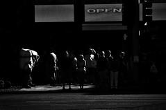 Google Eyes  !!! (imagejoe) Tags: vegas nevada street strip black white photography photos shadows reflections tamron people nikon