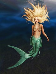 Impulsive Spirit's Pressed Fairy Collection # 11 (impulsive.spirit) Tags: slavatar sl secondlife mermaid