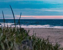 Sunset through the clouds (aka Buddy) Tags: 2018 summer sunset beach dune grass sand atlantic ocean longbranch nj og