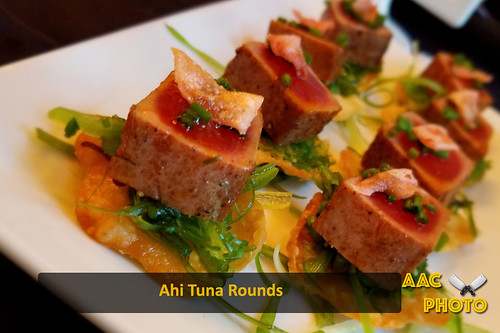 "Ahi Tuna Rounds • <a style=""font-size:0.8em;"" href=""http://www.flickr.com/photos/159796538@N03/44644100741/"" target=""_blank"">View on Flickr</a>"